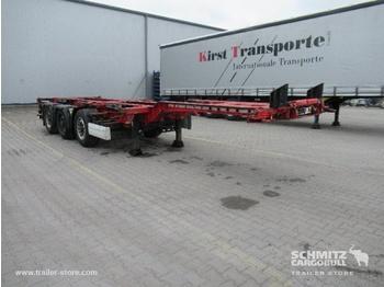 Containertransporter/ wissellaadbak oplegger KRONE Auflieger Containerfahrgestell Slider