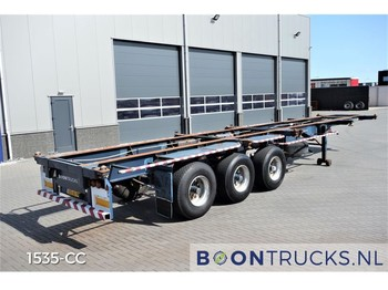 Pacton 3139 C-4222 | 20-40ft * STEEL SUSPENSION - containertransporter/ wissellaadbak oplegger