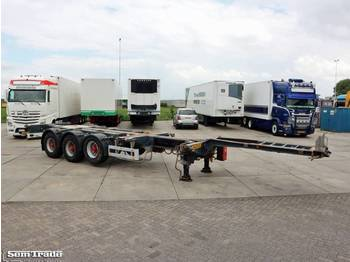 Pacton T3-010 20-30-40-45ft HC MULTICHASSIS 2 PIECES ADR BPW AXLES - containertransporter/ wissellaadbak oplegger