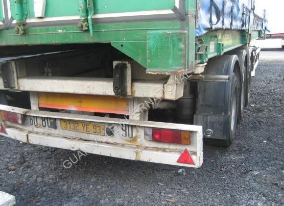 containertransporter/ wissellaadbak oplegger Samro
