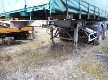 Containertransporter/ wissellaadbak oplegger Trailor