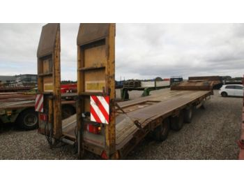 Dieplader oplegger Goldhofer lowloader with ramps