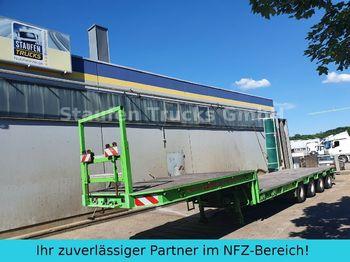 Dieplader oplegger Broshuis 4-Achs SEMI Tieflader extendable 58 to