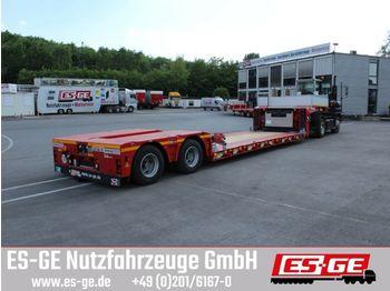 Dieplader oplegger Doll 2-Achs-Tiefbett 2x12 t (Panther)
