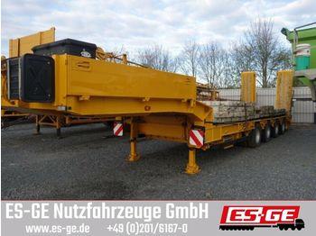Dieplader oplegger Müller-Mitteltal 4-Achs-Satteltieflader - 2tlg. Rampen