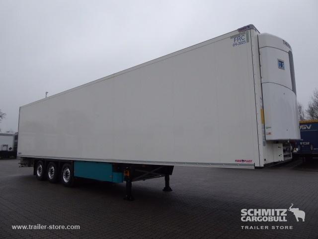 gesloten oplegger SCHMITZ Auflieger Tiefkühler Multitemp Double deck
