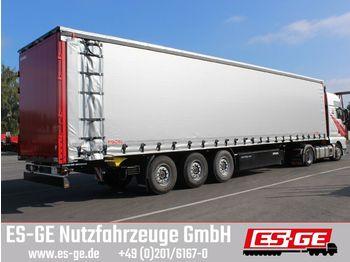 Huif oplegger Kögel 3-Achs-Cargo-Pritschensattelanhänger