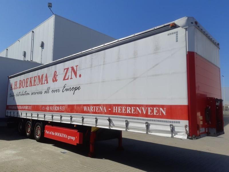 huif oplegger Schmitz Cargobull 3 Axle Tautliner