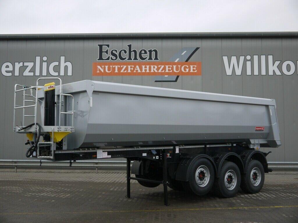kipper oplegger Langendorf SKS *NEU*25m³ Stahl*Pendelklappe*Luft/Lift*Plane