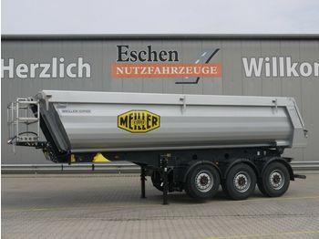 Kipper oplegger Meiller MHPS 44.3 26m³ Stahl*5/6mm Boden*Luft/Lift*Plane