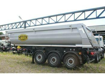 Kipper oplegger Meiller Meiller MHPS 44/3 N 25m³ Stahl Mulde