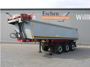 Kipper oplegger Schmitz Cargobull SKI 24, 24m³ 2xLiftachse, Alu, E-Verdeck, SAF