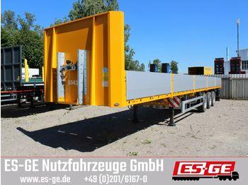 Platform oplegger ES-GE 3-Achs-Sattelanhänger - Bordwände - CV