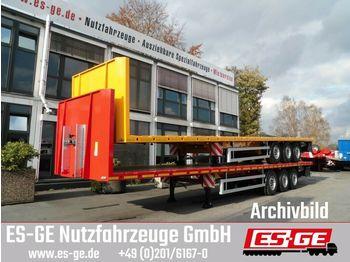 Platform oplegger ES-GE 3-Achs-Sattelanhänger - Rungen