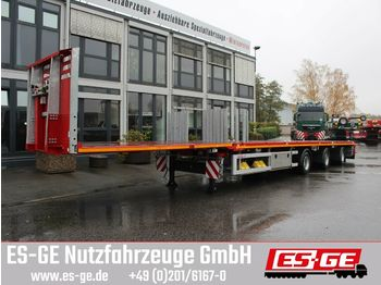 Platform oplegger Faymonville 3-Achs-Megatrailer -  tele. - hydr. gelenkt