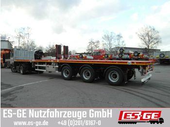 Platform oplegger Faymonville MAX Trailer 3-Achs-Teleauflieger - hydr. gelenkt