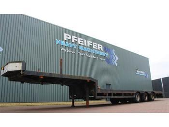 Platform oplegger Lintrailers 3LS-DU.18.27 3 axle extendable trailer