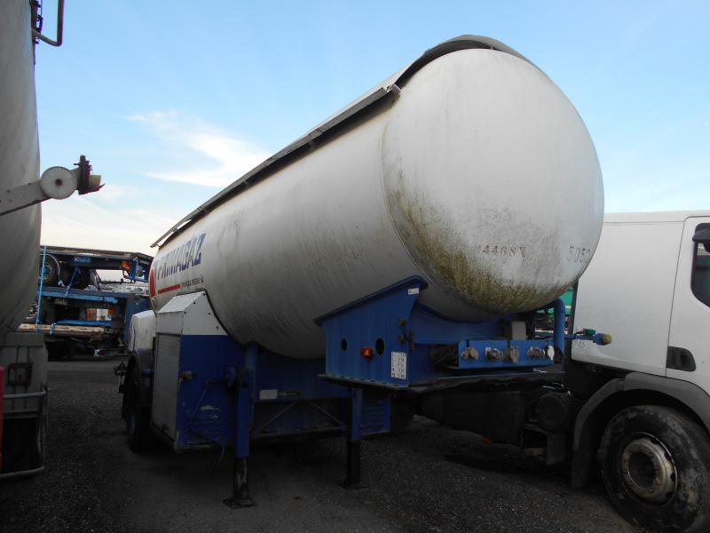 tank oplegger BARNEOUD GAZ