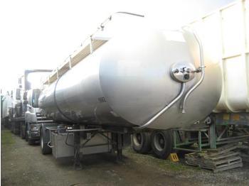 Tank oplegger ETA INOX