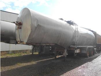 Tank oplegger Fruehauf