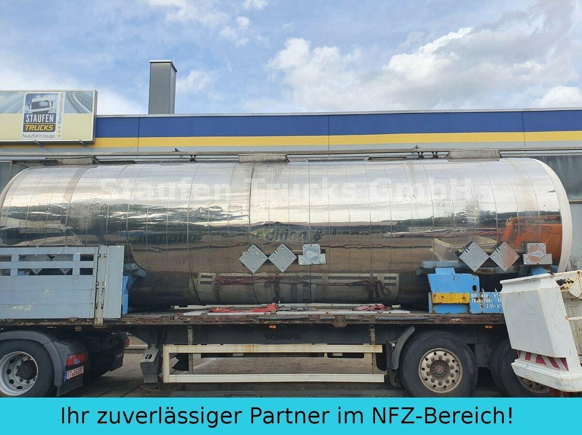 tank oplegger Magyar V4A CHEMIE  Tankcontainer isoliert  32.500 liter