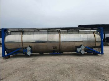 Tank oplegger T+A TANK CONTAINER Chemietank  V4A 31000 Liter