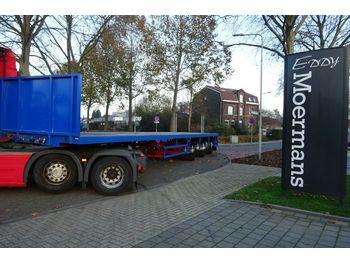 Vlakke/ open oplegger Broshuis 3AOU-48 Langmaterial