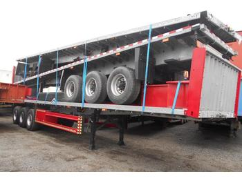 Vlakke/ open oplegger Schmitz Cargobull