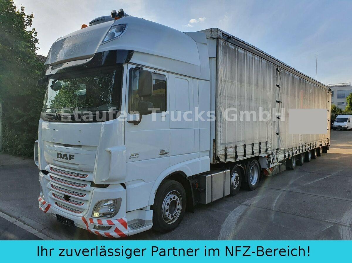 trekker DAF 106 510 SSC MEGA ZUG Schwerlast 8 Achsen DINKEL