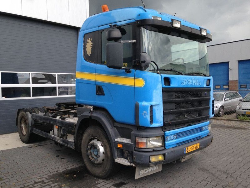 trekker Scania 114 380 Manual Retarder
