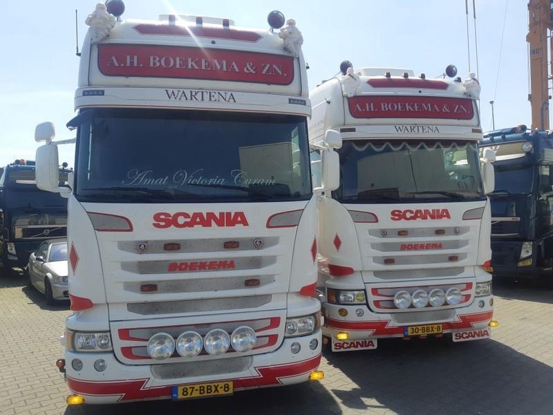 trekker Scania 2 x R450 Streamline