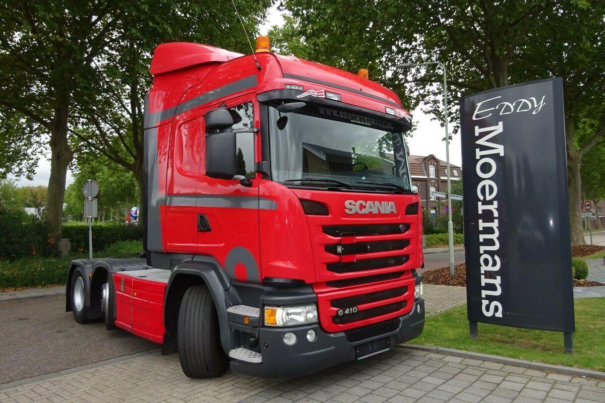 trekker Scania G410 Highline-Streamline 6x2/4 Twinsteer
