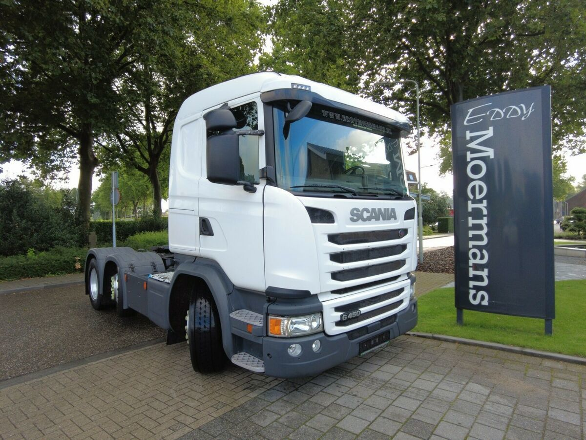 trekker Scania G450  Cg 19 6x2/4 Twinsteer SCR Only