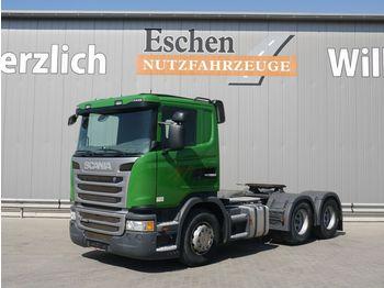Trekker Scania G 400, 6x4, Kipphydraulik, Manuell, Klima, EUR5