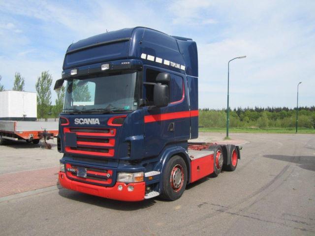 Wonderlijk Scania R500 6x2 Low-Deck trekker uit Nederland gebruikt kopen bij LX-51