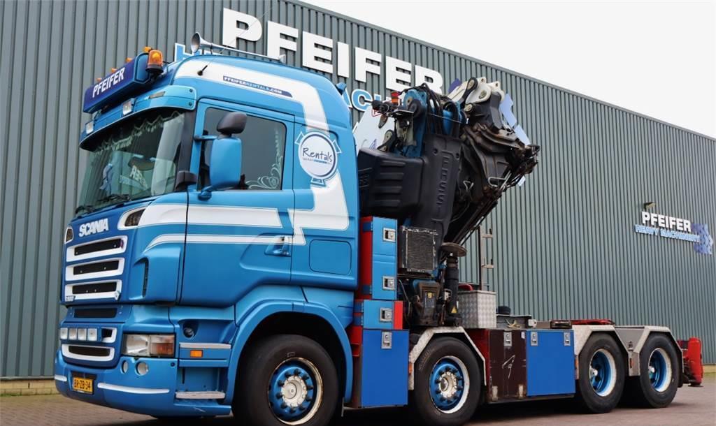 trekker Scania R500 8x4 + Fassi 110t/m Crane