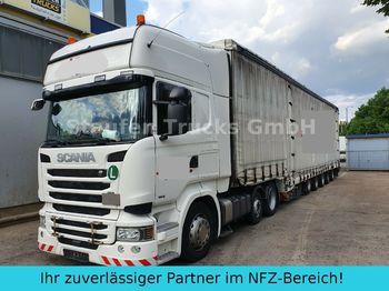 Trekker Scania R 490 6X2  DINKEL 5-Achs Maschin/Schwerlast ZUG!
