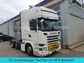 Trekker Scania R 490 Topline 6X2 Vorlaufa. LOW EURO 6 Schwerlas