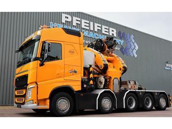 Trekker Volvo FH500 Comach 135 t/m Crane, 32m Reach, 35m Lifting