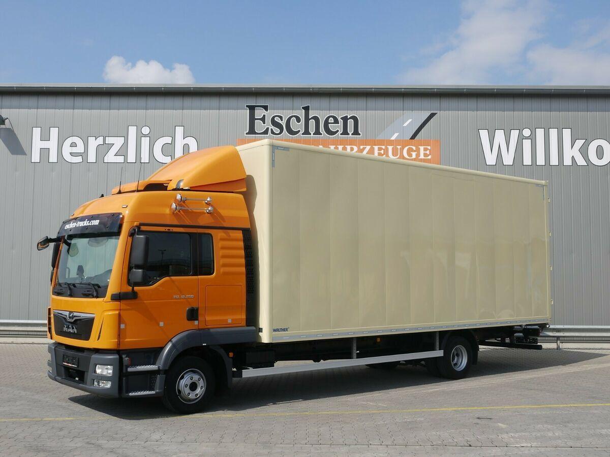 bakwagen MAN TGL 12.250*Walther Möbelkoffer*Klima/Standklima