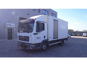 MAN TGL 8.180 (FULL STEEL SUSPENSION / SUSPENSION LAMES / BELGIAN TRUCK) - bakwagen
