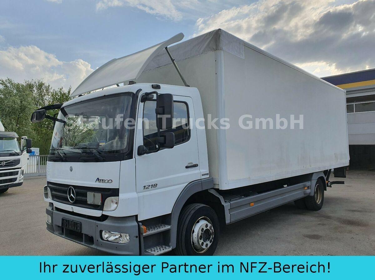 bakwagen Mercedes-Benz Atego 1218 L  Koffer LBW AHK  dt. Fzg TÜV 01/21