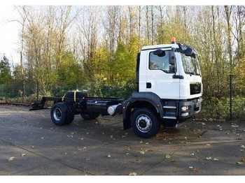 MAN TGM 18.280 BB 4x4 CHASSIS CABIN - chassis vrachtwagen