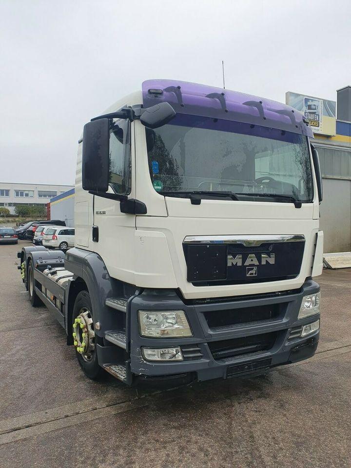 chassis vrachtwagen MAN TGS 26.360 FLL  6X2 ADR  Fgst GAS  Intarder