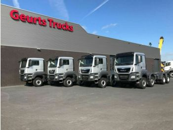 MAN TGS 41 480 8X6 TIPPER CHASSIS  - chassis vrachtwagen