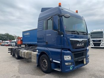 MAN TGX 26.400 6x2 Chassi, E6 - chassis vrachtwagen