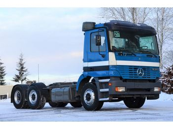 MERCEDES-BENZ ACTROS 2540 1998 6x2 chassis - chassis vrachtwagen