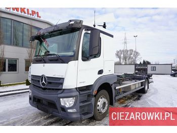 MERCEDES-BENZ Actros 1840 , E6 , 150 000 km , chassis 7,2m , lift 1500kg , ret - chassis vrachtwagen