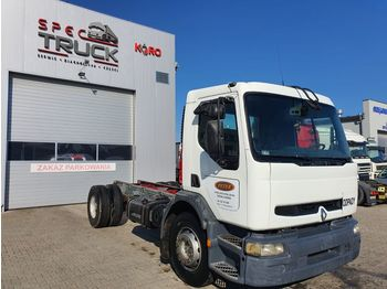 RENAULT PREMIUM 340, Manual Pump, Full Steel, 4x2, Manual - chassis vrachtwagen