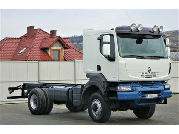 Renault  KERAX  460 DXI   Fahrgestell 5,80 m *4x4  - chassis vrachtwagen
